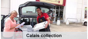 Calais collect wine