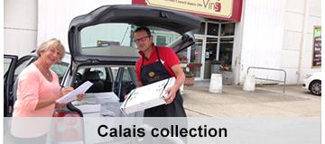 Calais collect wine
