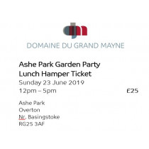 Ashe Park Garden Party - Hamper Ticket