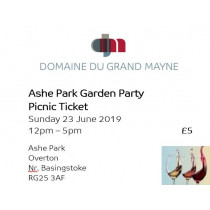 Ashe Park Garden Party - Picnic Ticket