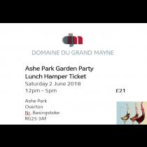 Ashe Park Garden Party - Hamper Ticket