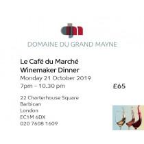Le Café du Marché London Dinner ticket