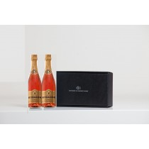 NV Sparkling Rosé two bottle gift (packed 3 gift boxes to a case)