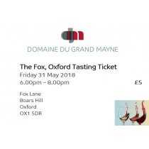 The Fox, Oxford New Vintage Tasting Tickets
