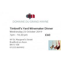 Timbrell's Yard Dinner ticket