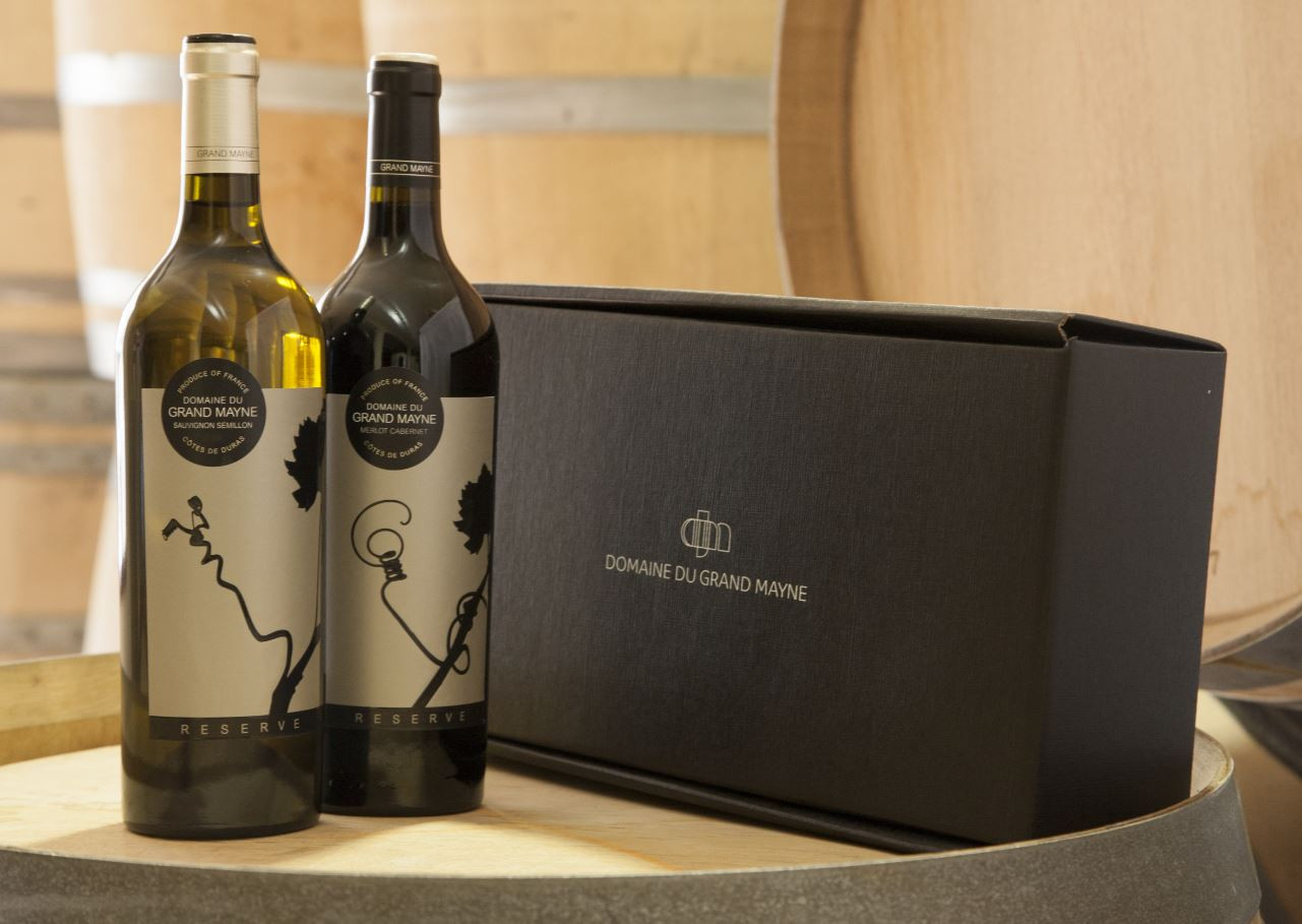 Reserve Two Bottle Gift Packed 3 Gift Boxes To A Case